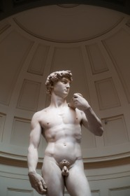 The infamous Michelangelo's 'David',