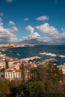 View of Bay of Naples
