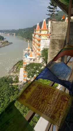 View from Shambala Cafe along the Ganga Ma