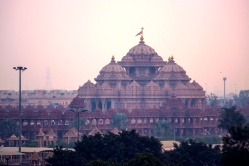 Akshardham temple. Incredibly beautiful temple celebrating Indian arts