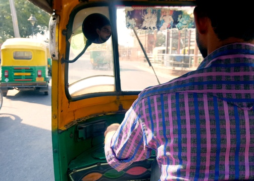 The charming tuktuk driver