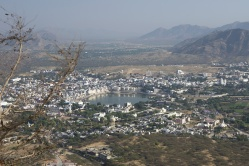 View from Savitri Mata Temple