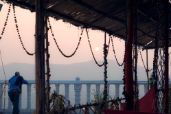 Shri Manshapurna Karni Mata Temple at sunset